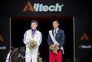 Jacques Ferrari, (FRA), Francois Athimon - Individuals Men Final Vaulting - Alltech FEI World Equestrian Games&trade; 2014 - Normandy, France.<br /> &copy; Hippo Foto Team - Jon Stroud<br /> 05/09/2014
