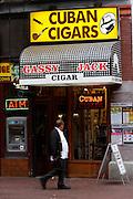 Gastown. Gassy Jack Cigar store, named after Gastown's founder.