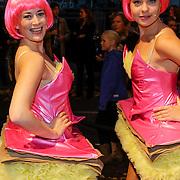 NLD/Amsteram/20121021- Premiere HEMA de Musical, 2 menselijke tompuchen