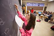 Ohio University students take advantage of the school's free supplemental instruction program  that offers a more intimate educational tutoring environment.  Photo by Ohio University / Jonathan Adams
