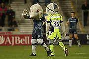 Sale Mascots during the Aviva Premiership match between Sale Sharks and Gloucester Rugby at the AJ Bell Stadium, Eccles, United Kingdom on 29 September 2017. Photo by George Franks.