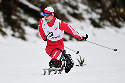 ROSIEK Kamil, POL at the 2014 IPC Nordic Skiing World Cup Finals - Long Distance