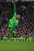 David Button (GK) (Brighton) in action during the EFL Cup match between Brighton and Hove Albion and Aston Villa at the American Express Community Stadium, Brighton and Hove, England on 25 September 2019.