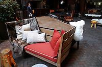 Interior shots at the hudson hotel. November 9, 2012