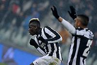 Paul Pogba esultanza secondo gol  , goal celebration ,  Juventus.Calcio  Juventus vs Udinese.Campionato Serie A - Torino 19/1/2013 Juventus Stadium.Football Calcio 2012/2013.Foto Federico Tardito Insidefoto.