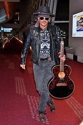 June 20, 2017 - Tokio, Tokio, Japan - Johnny Depp bei der Ankunft auf dem Tokyo International Airport. Tokio, 20.06.2017 (Credit Image: © Future-Image via ZUMA Press)