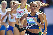 Renelle Lamote competes in women 800m during the European Championships 2018, at Olympic Stadium in Berlin, Germany, Day 1, on August 7, 2018 - Photo Philippe Millereau / KMSP / ProSportsImages / DPPI