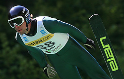 Sigurd Pettersen of Norway at FIS Continental cup Ski-jumping Summer Kranj, on July 6, 2008, Kranj, Slovenia. (Photo by Vid Ponikvar / Sportal Images)<br /> <br /> / Sportida)