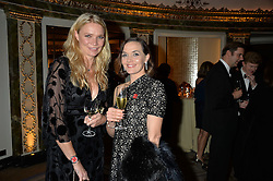 Left to right, JODIE KIDD and VICTORIA PENDLETON at the 26th Cartier Racing Awards held at The Dorchester, Park Lane, London on 8th November 2016.