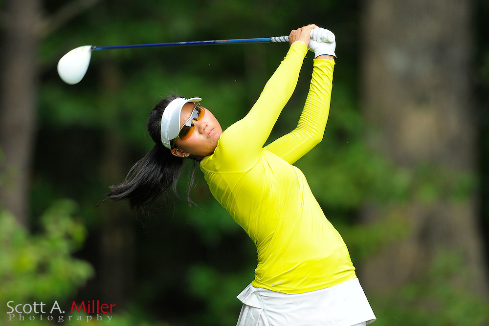 Jessy Tang during the Symetra Tour's Eagle Classic at the Richmond Country Club on August 17, 2012 in Richmond, Va...©2012 Scott A. Miller