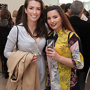 13.05.2016.           <br /> Katie Boner, Donegal and Mihaela Lynch, Tralee pictured at the much anticipated Limerick School of Art & Design, LIT, (LSAD) Graduate Fashion Show on Thursday 12th May 2016. The show took place at the LSAD Gallery where 27 graduates from the largest fashion degree programme in Ireland showcased their creations. Ranked among the world's top 50 fashion colleges, Limerick School of Art and Design is continuing to mold future Irish designers.. Picture: Alan Place/Fusionshooters