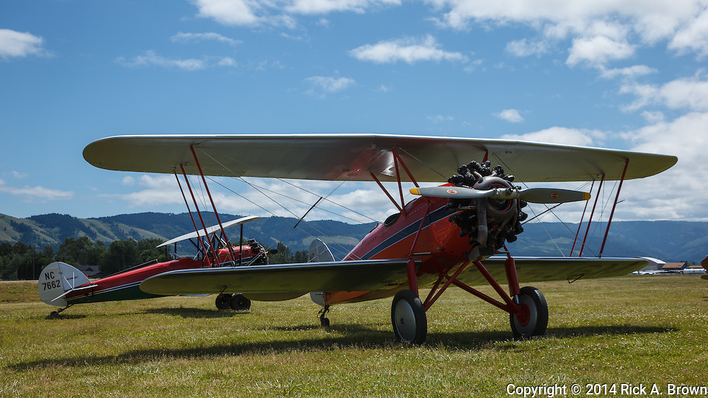 "1929 Waco CTO ""Taper Wing"" and 1928 Waco GXE at WAAAM."