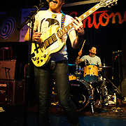 AUSTIN, TX - March 17th: Pulled Apart By Horses perform at the Live4ever.com British Music showcase at Antone's as part of the 2011 South by Southwest Festival. (Photo by Kyle Gustafson)