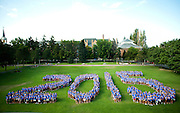 Gonzaga's Freshman Class of 2015.<br />