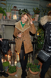 The Ivy Chelsea Garden's Guy Fawkes Party & Launch of The Winter Garden was held on 5th November 2016.<br /> Picture shows:-TESS WARD.