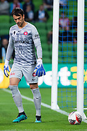 MELBOURNE, AUSTRALIA - SEPTEMBER 18: Daniel Lopar (1) of the Wanderers takes a goal kick during the FFA Cup Quarter Finals match between Melbourne City FC and Western Sydney Wanderers FC at AAMI Park on September 18, 2019 in Melbourne, Australia. (Photo by Speed Media/Icon Sportswire)