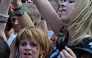 Fans at the Vans Warped Tour, Nassau Coliseum, Long Island, New York, 2010
