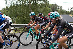 Hannah Payton (GBR) of Drops Cycling Team rides mid-pack on Stage 2 of the Ladies Tour of Norway - a 140.4 km road race, between Sarpsborg and Fredrikstad on August 19, 2017, in Ostfold, Norway. (Photo by Balint Hamvas/Velofocus.com)