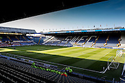 Hillsborough Stadium during the Sky Bet Championship match between Sheffield Wednesday and Milton Keynes Dons at Hillsborough, Sheffield, England on 19 April 2016. Photo by Simon Davies.