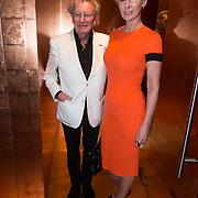 NLD/Amsterdam/20140308 - Modeshow Mart Visser 2014 S/S, Jan en partner Monique des Bouvrie