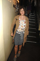TRACEY EMIN at a party to celebrate the publication of Piers Morgan's book 'Don't You Know Who I Am?' held at Paper, 68 Regent Street, London W1 on 18th April 2007.<br />