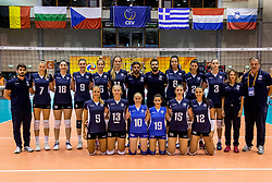 22-08-2017 NED: World Qualifications Netherlands - Greece, Rotterdam<br /> Teamfoto Griekenland