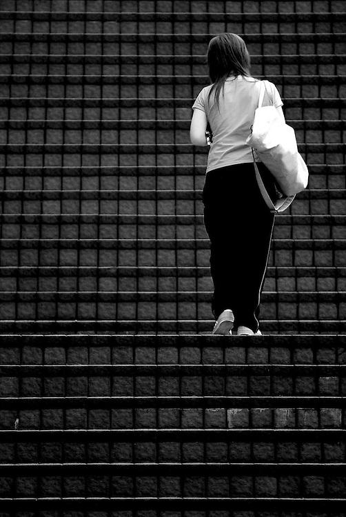 Kowloon staircase