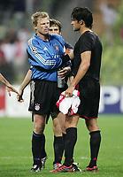 Fotball<br /> Champions League 2004/05<br /> Bayern München v Ajax<br /> 28. september 2004<br /> Foto: Digitalsport<br /> NORWAY ONLY<br /> Oliver Kahn, Michael Ballack FCB