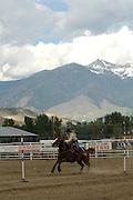 Pole Bending, Cowgirl, teen, teenager, Rodeo, Salmon, Idaho
