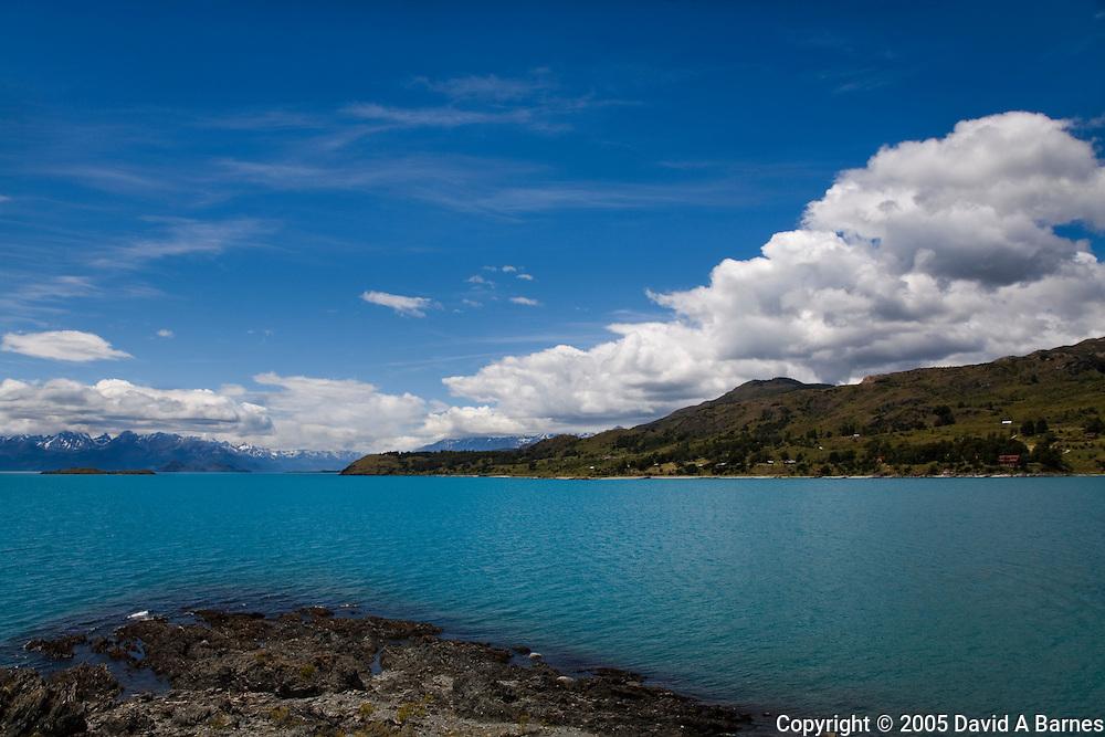 Lake General Carrera, Andes Mountains, Patagonia, Chile