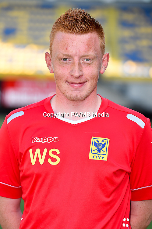 STVV's analyst Will Still poses for the photographer during the 2015-2016 season photo shoot of Belgian first league soccer team STVV, Friday 17 July 2015 in Sint-Truiden.