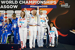 Team Russia RUS at 2015 IPC Swimming World Championships -  Women's 4x100m Medley Relay 34PTS