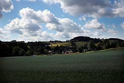 CZECH REPUBLIC VYSOCINA NEDVEZI 30JUL15 - A field of maize near the village of Nedvezi, Vysocina, Czech Republic. <br /> <br /> <br /> <br /> jre/Photo by Jiri Rezac<br /> <br /> © Jiri Rezac 2015