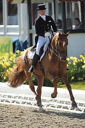 Wulferding Kira, (GER), Benaglio<br /> Nurnberger Burg-Pokal - St George Special<br /> Horses & Dreams meets Denmark - Hagen 2016<br /> © Hippo Foto - Stefan Lafrentz