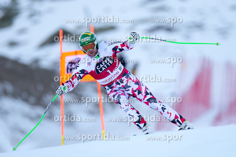 28.12.2015, Deborah Compagnoni Rennstrecke, Santa Caterina, ITA, FIS Ski Weltcup, Santa Caterina, Abfahrt, Herren, 2. Training, im Bild Klaus Kroell (AUT) // Klaus Kroell of Austria in action during the 2nd practice run of men's Downhill of the Santa Caterina FIS Ski Alpine World Cup at the Deborah Compagnoni Course in Santa Caterina, Italy on 2015/12/28. EXPA Pictures © 2015, PhotoCredit: EXPA/ Johann Groder