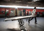 Porter, New Delhi Railway Station, India