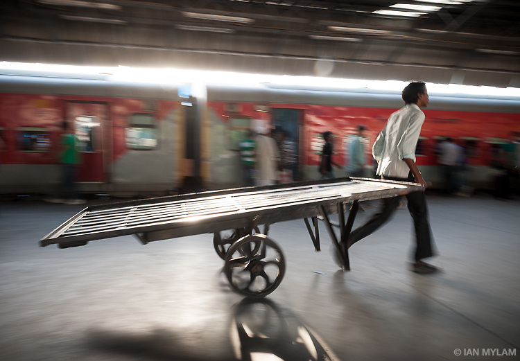 Porter, New Delhi Railway Station, India