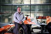 Zak Brown shoot at McLaren in Woking