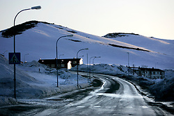 Norway Hammerfest 24MAR07 - Housing in Hammerfest, the world's most northerly town...jre/Photo by Jiri Rezac..© Jiri Rezac 2007..Contact: +44 (0) 7050 110 417.Mobile:  +44 (0) 7801 337 683.Office:  +44 (0) 20 8968 9635..Email:   jiri@jirirezac.com.Web:    www.jirirezac.com..© All images Jiri Rezac 2007 - All rights reserved.