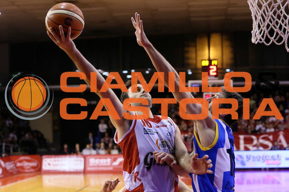 Stefano Gentile<br /> Grissin Bon Pallacanestro Reggio Emilia - Betaland Capo d' Orlando - <br /> Lega Basket Serie A 2016/2017<br /> Reggio Emilia, 05/12/2016<br /> Foto Ciamillo-Castoria