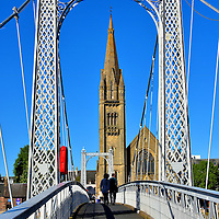 Greig Street Bridge in Inverness, Scotland<br />
