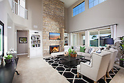Modern Style Living Room Stock Photo