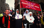 Prostitution Pride march, London, 1997