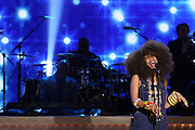 January 12, 2013- Washington, D.C- Recording Artist Mint Erykah Badu performs at the 2013 BET Honors held at the Warner Theater on January 12, 2013 in Washington, DC. BET Honors is a night celebrating distinguished African Americans performing at exceptional levels in the areas of music, literature, entertainment, media service and education. (Terrence Jennings)