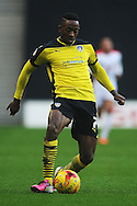 Sanchez Watt of Colchester United during the Sky Bet League 1 match between Milton Keynes Dons and Colchester United at stadium:mk, Milton Keynes<br /> Picture by Richard Blaxall/Focus Images Ltd +44 7853 364624<br /> 29/11/2014