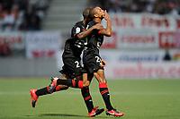 FOOTBALL - FRENCH CHAMPIONSHIP 2010/2011 - L1 - AS NANCY LORRAINE v STADE RENNAIS - 14/08/2010 - PHOTO GUILLAUME RAMON / DPPI - Yacine BRAHIMI (RENNES)