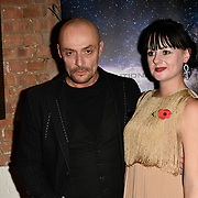Sean Cronin and Aleah Leigh arrivers at Eleven Film Premiere at Picture House Central, Piccadilly Circus on 10 November 2018, London, Uk.
