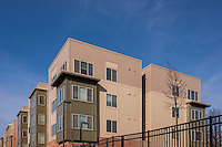 Baltimore Architecture image of the Greens at Irvington Mews community center by Jeffrey Sauers of Commercial Photographics