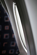 commercial passenger airplane window