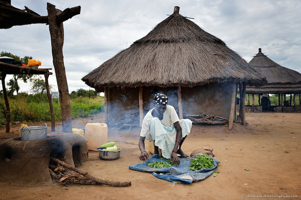 South Sudan, documentation of development aid projects by the Swiss NGO HEKS and SDC.